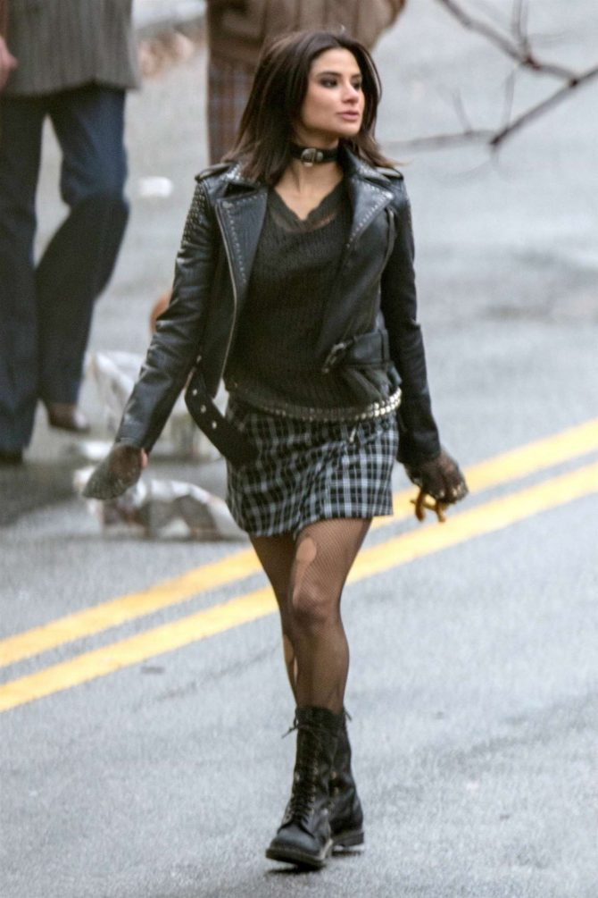 Diane Guerrero - On set for 'Doom Patrol' in Atlanta