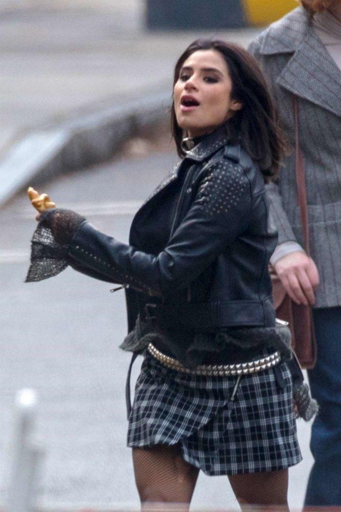 Diane Guerrero: On set for Doom Patrol -12