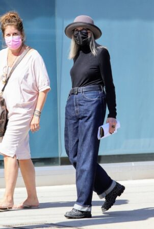 Diane Keaton - Leaving doctor appointment at Cedars-Sinai in Beverly Hills