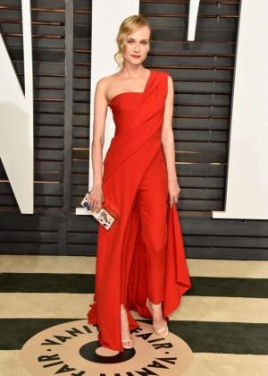 Diane Kruger - 2015 Vanity Fair Oscar Party in Hollywood