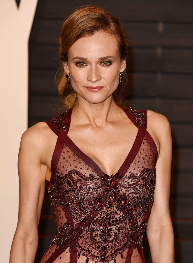 Diane Kruger - 2016 Vanity Fair Oscar Party in Beverly Hills