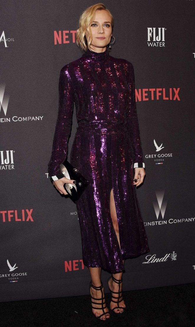 Diane Kruger - 2017 InStyle and Warner Bros Golden Globes After Party in LA