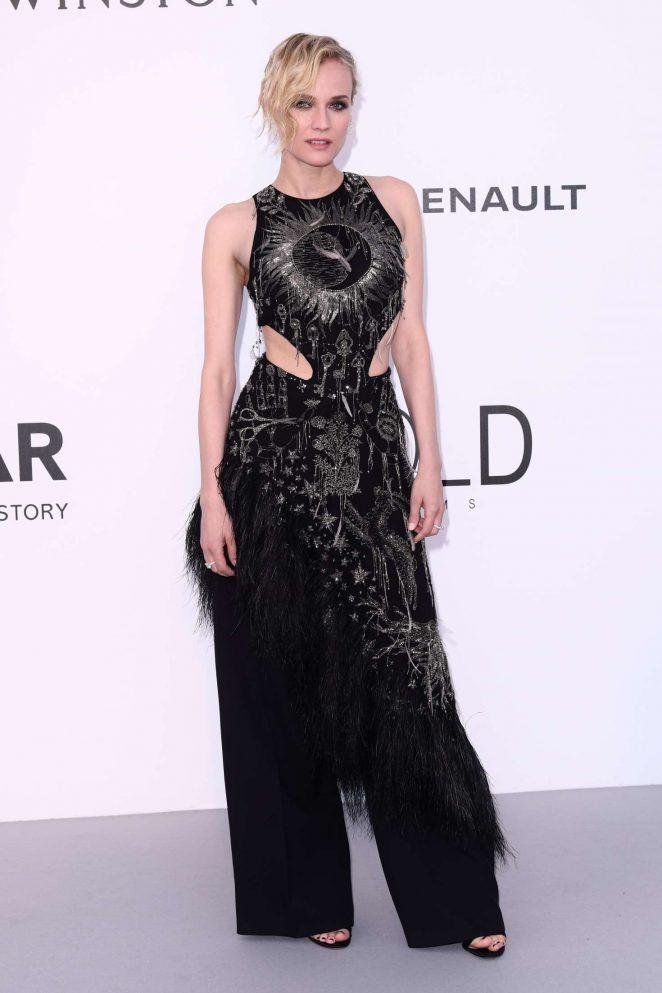 Diane Kruger - amfAR's 24th Cinema Against AIDS Gala in Cannes