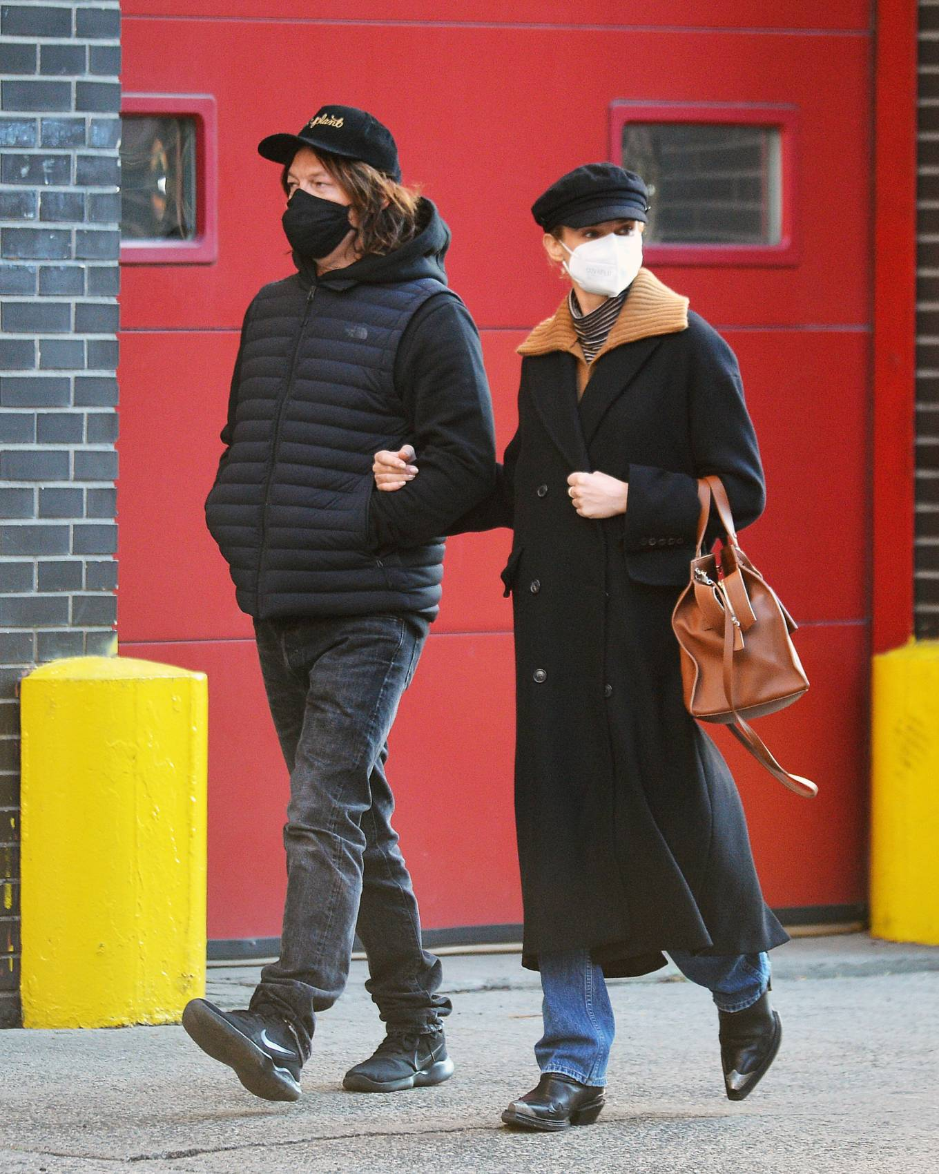 Diane Kruger and Norman Reedus - Stroll in New York