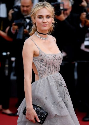 Diane Kruger - Anniversary Soiree at 70th Cannes Film Festival