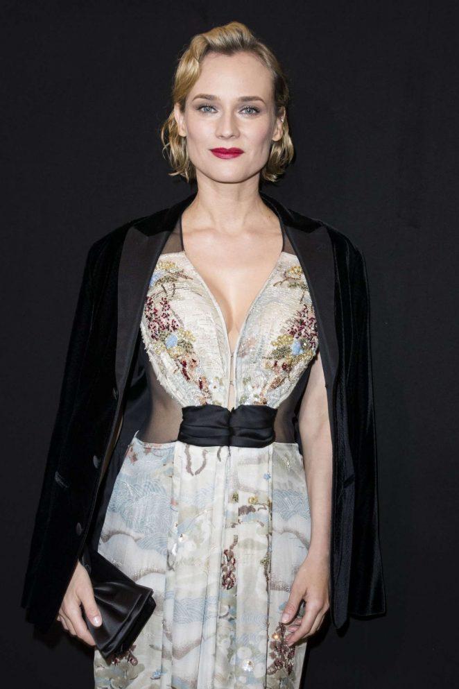 Diane Kruger - Armani Prive Fashion Show 2018 in Paris