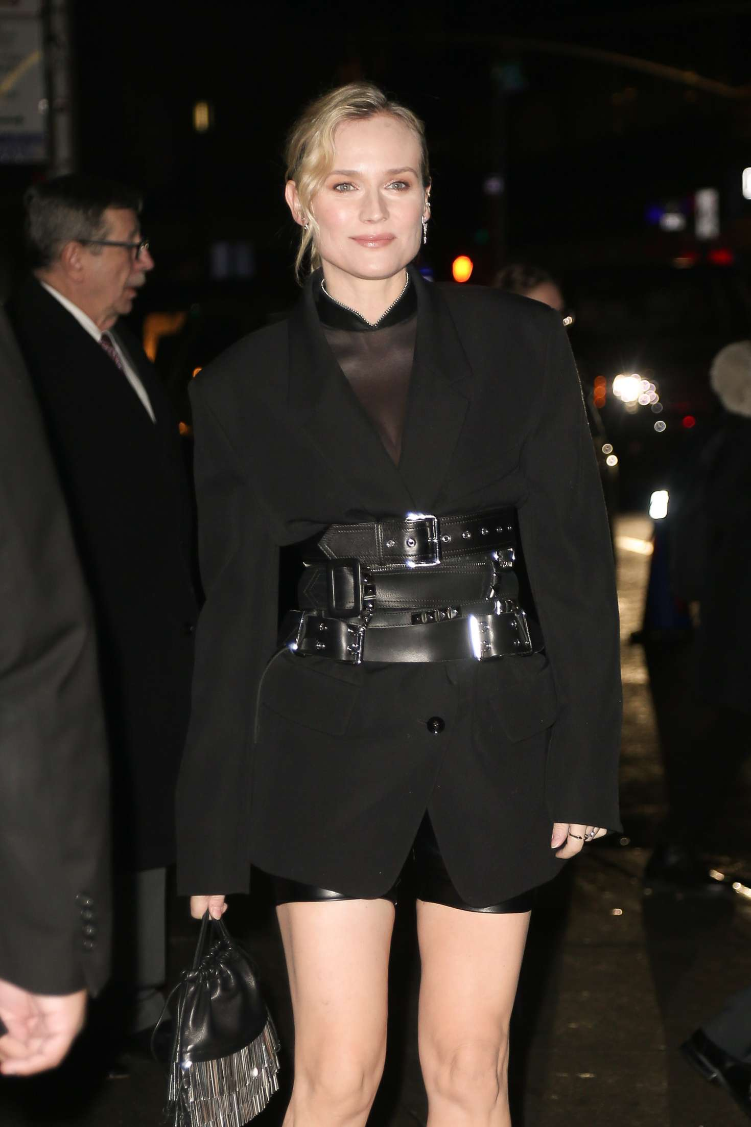 Diane Kruger 2018 : Diane Kruger: Arriving at Late show with Stephen Colbert -07