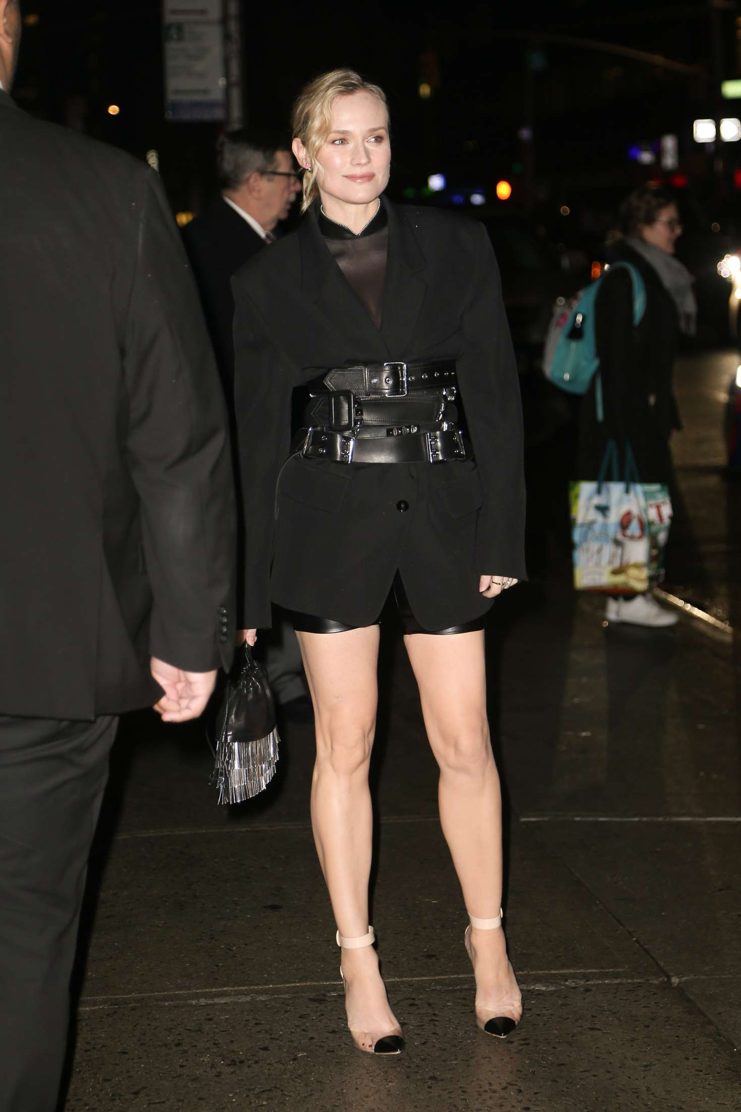 Diane Kruger 2018 : Diane Kruger: Arriving at Late show with Stephen Colbert -08