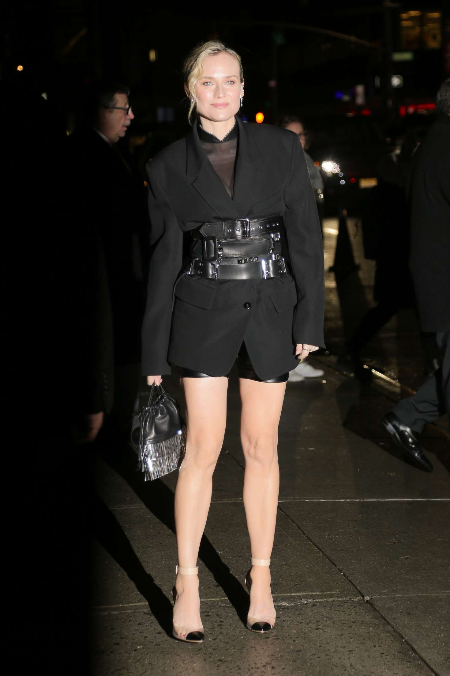 Diane Kruger 2018 : Diane Kruger: Arriving at Late show with Stephen Colbert -11