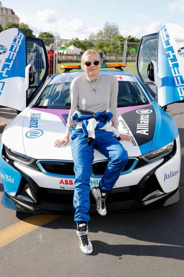 Diane Kruger at the ABB FIA Formula E Paris E-Prix -01