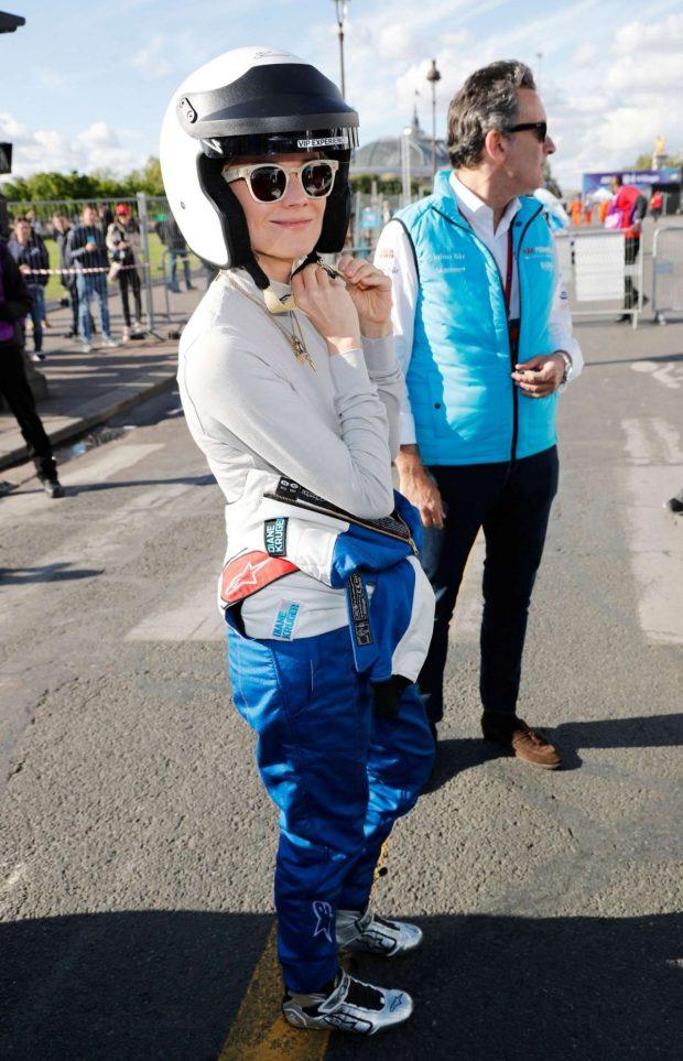 Diane Kruger at the ABB FIA Formula E Paris E-Prix -12