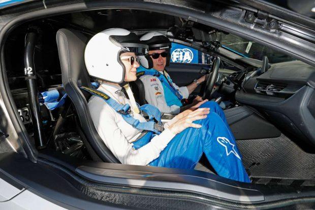 Diane Kruger at the ABB FIA Formula E Paris E-Prix -16