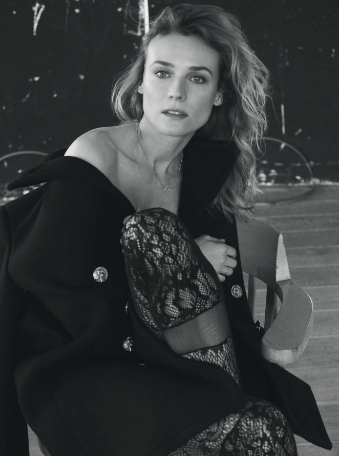 Diane Kruger by Stefano Galuzzi Photoshoot for L'Express Styles 2016