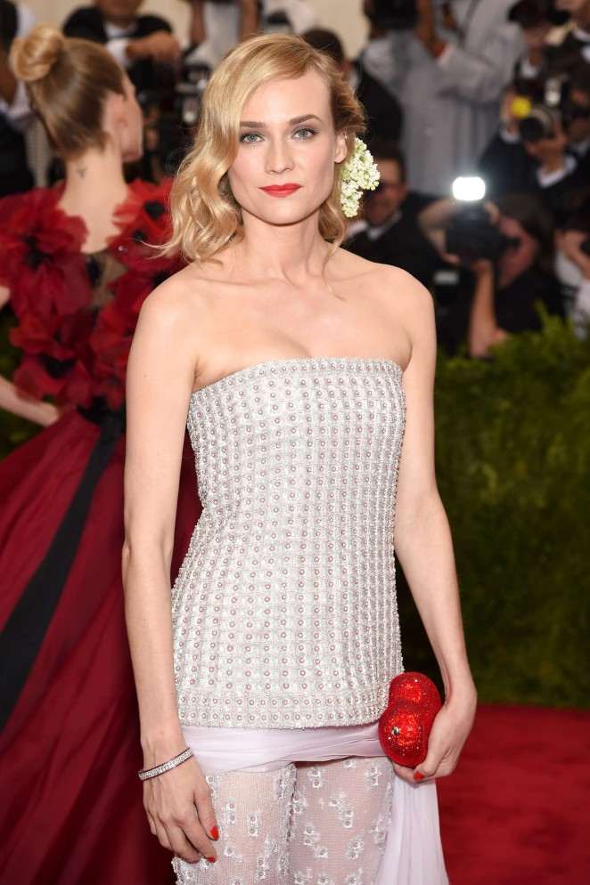 Diane Kruger - 2015 Costume Institute Gala in NYC