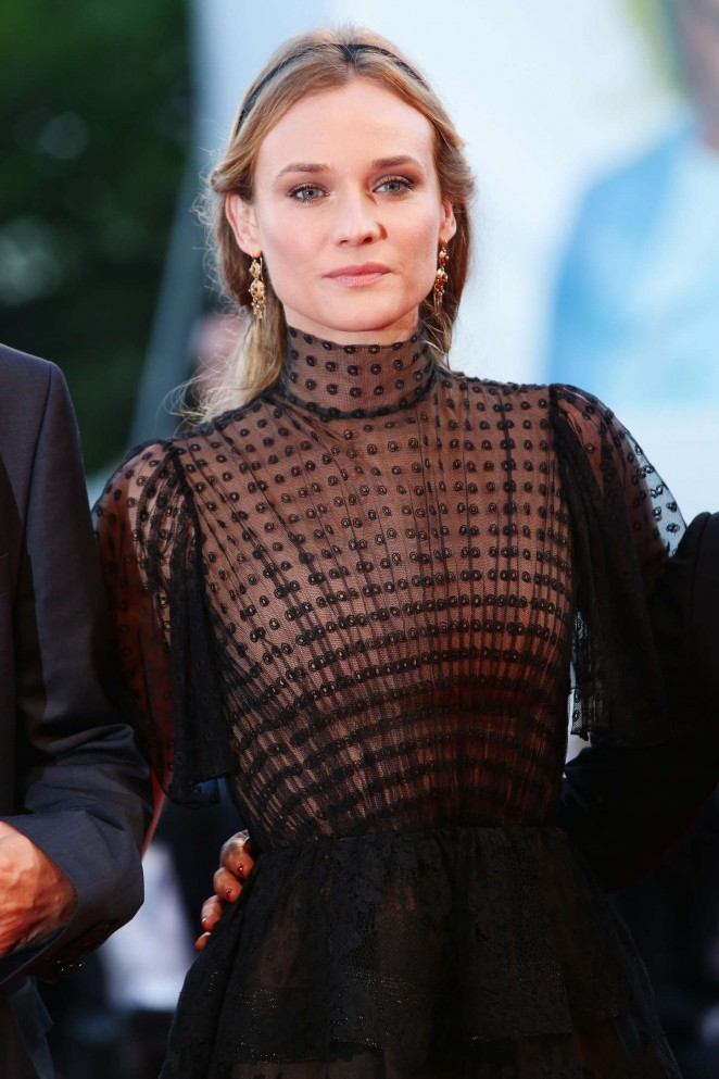 Diane Kruger - Closing Ceremony and Premiere Of 'Lao Pao Er' at 72nd Venice Film Festival