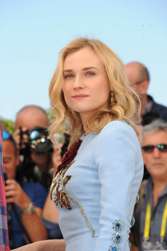 Diane Kruger - 'Disorder' Photocall at 2015 Cannes Film Festival