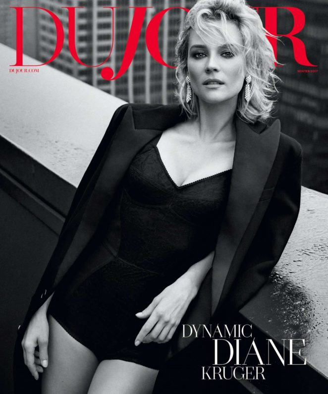 Diane Kruger – DuJour Magazine (Winter 2017)