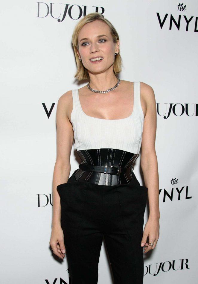 Diane Kruger - DuJour's Jason Binn Celebrates Winter Cover Star Diane Kruger in NYC