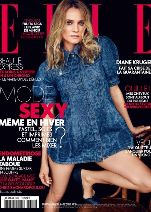 Diane Kruger - Elle France Magazine (March 2016)