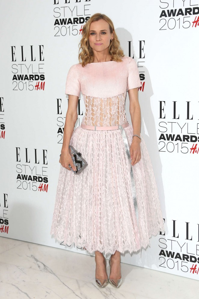 Diane Kruger - Elle Style Awards 2015 in London