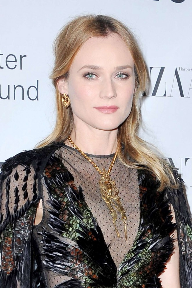Diane Kruger – Evening honoring Valentino at Lincoln Center Corporate Fund Black Tie Gala in NYC