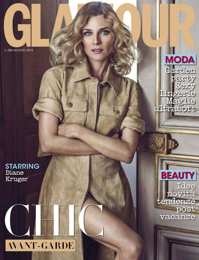 Diane Kruger - Glamour Italy Magazine (August 2015)