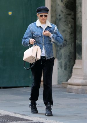 Diane Kruger - Heads to the gym in New York City
