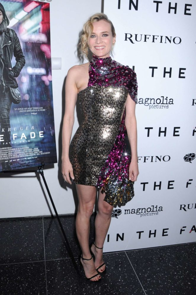 Diane Kruger - 'In the Fade' Premiere in New York City