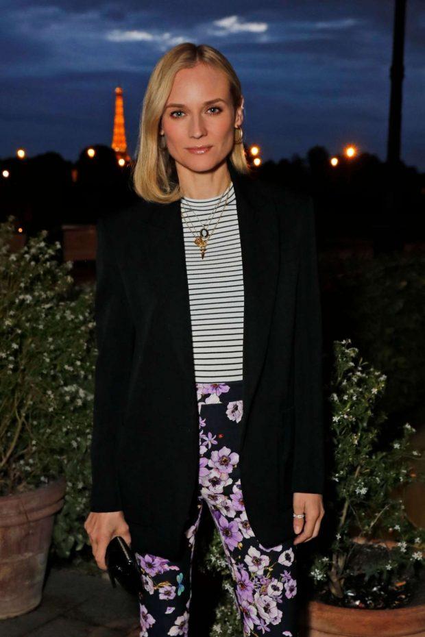 Diane Kruger - Intimate Dinner ahead of the ABB FIA Formula E Paris E-Prix in Paris