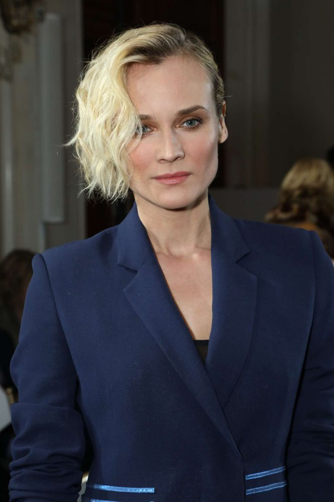 Diane Kruger - Jason Wu Show Fall Winter 2017 at NYFW in New York