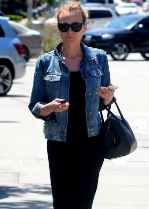 Diane Kruger Leaving Cafe Zinque in West Hollywood