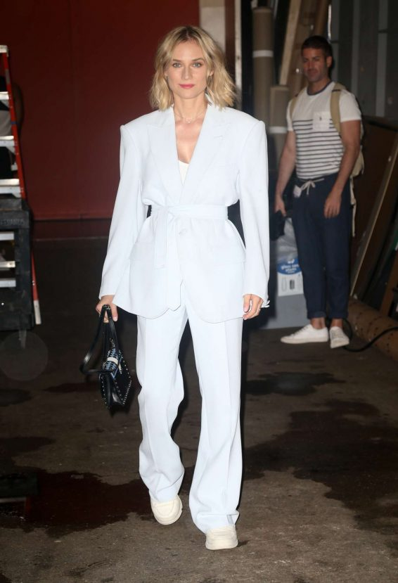 Diane Kruger 2019 : Diane Kruger – Live with Kelly and Ryan in New York-02