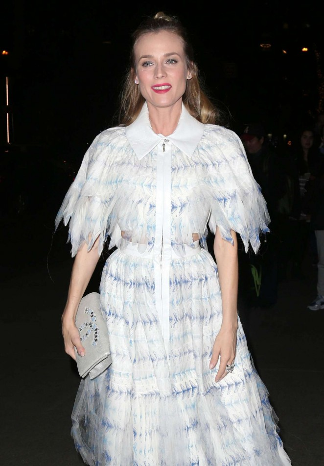 Diane Kruger - Museum of Modern Art's 8th annual Film Benefit in New York City