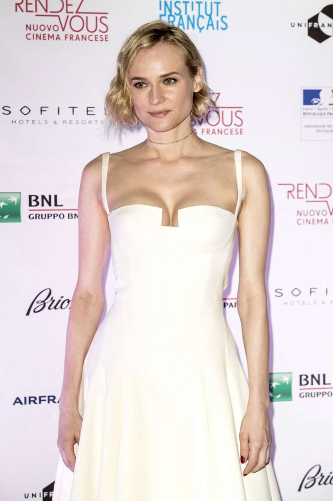 Diane Kruger - Opening of French Cinema Festival 'Rendez-Vous' in Rome