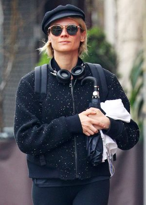 Diane Kruger ou in NYC
