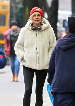 Diane Kruger - Out and about in New York