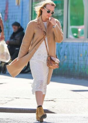 Diane Kruger in White Dress -04