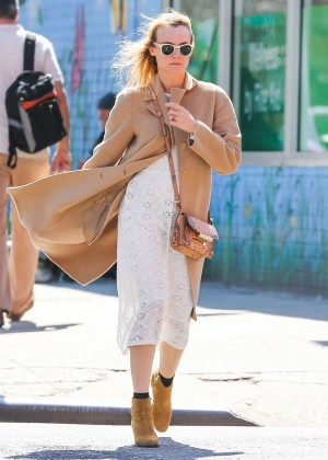 Diane Kruger in White Dress -05