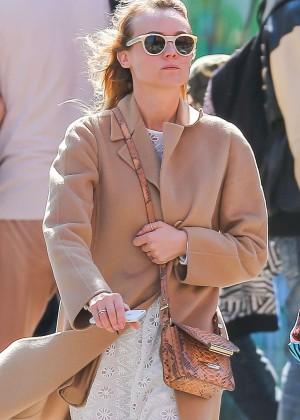 Diane Kruger in White Dress -09