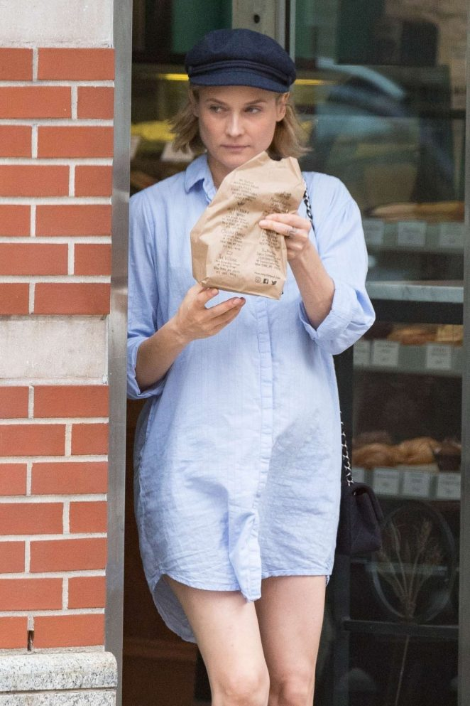 Diane Kruger: Out in New York -08