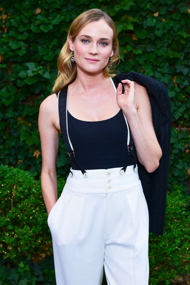 Diane Kruger - Polo Ralph Lauren Children's Fashion Show in NY