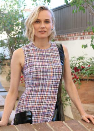 Diane Kruger - Press Conference for In The Fade in LA