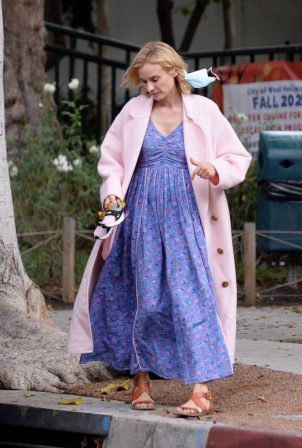 Diane Kruger - Seen out in Los Angeles