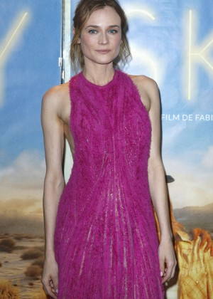 Diane Kruger - 'Sky' Premiere in Paris