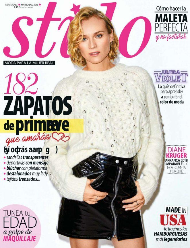 Diane Kruger - Stilo Spain Magazine (March 2018)