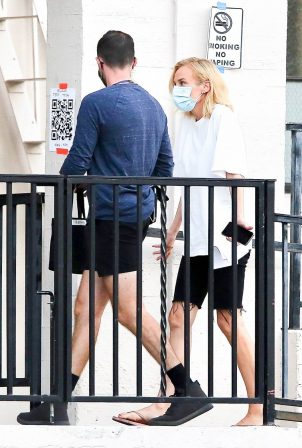 Diane Kruger - 'Swimming With Sharks' set in Los Angeles