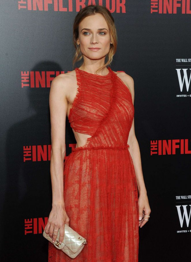 Diane Kruger – 'The Infiltrator' Premiere in New York