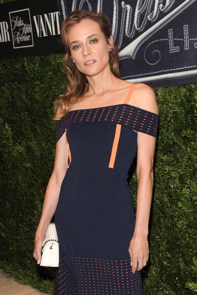 Diane Kruger - Vanity Fair 2016 Best Dressed Reception in New York