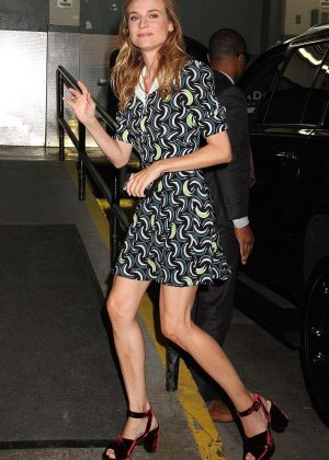 Diane Kruger visits 'HuffPost Live' in NYC