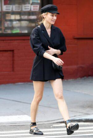 Diane Kruger - Walks back home in New York